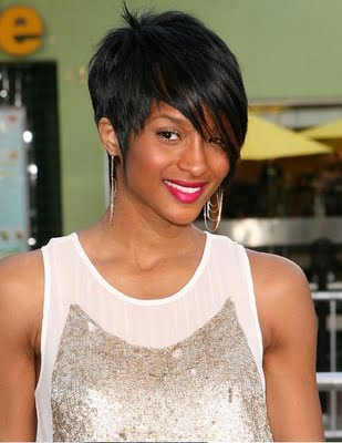 Best Trendy Black Short Haircuts for 2010 Summer