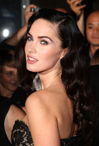 megan fox hair extensions. megan fox hair. megan fox hair