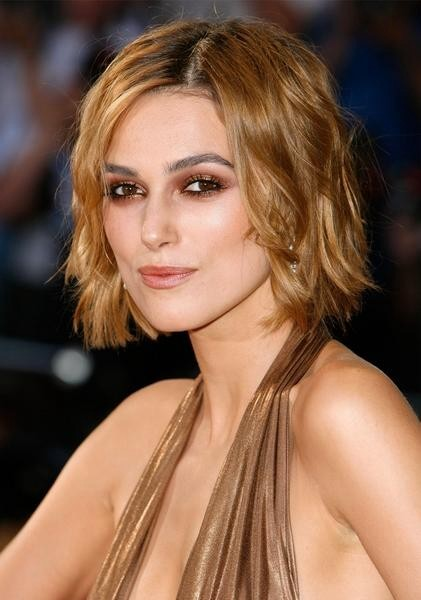Beautiful Keira Knightley Hairstyle