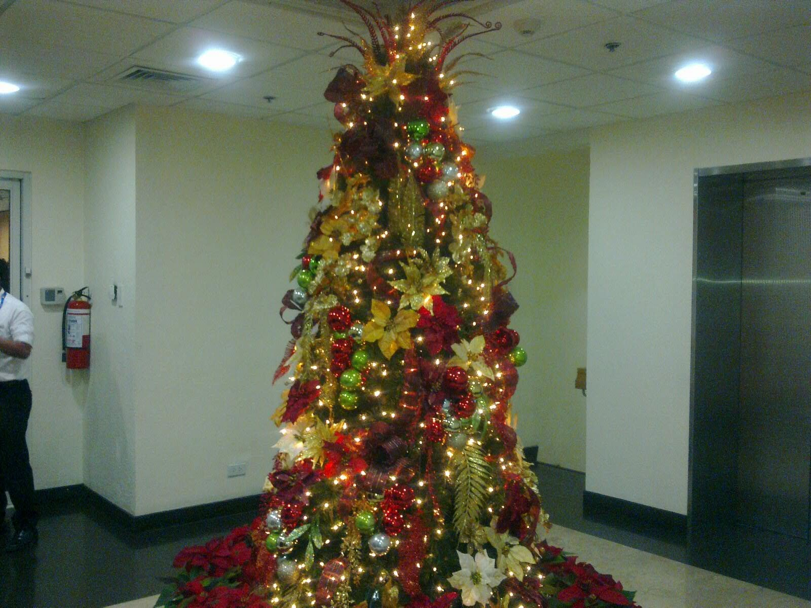 Our mission to the philippines december 1st vip reception Christmas tree decorating ideas philippines