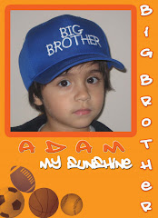 Adam - The Oldest Son (3yrs old)