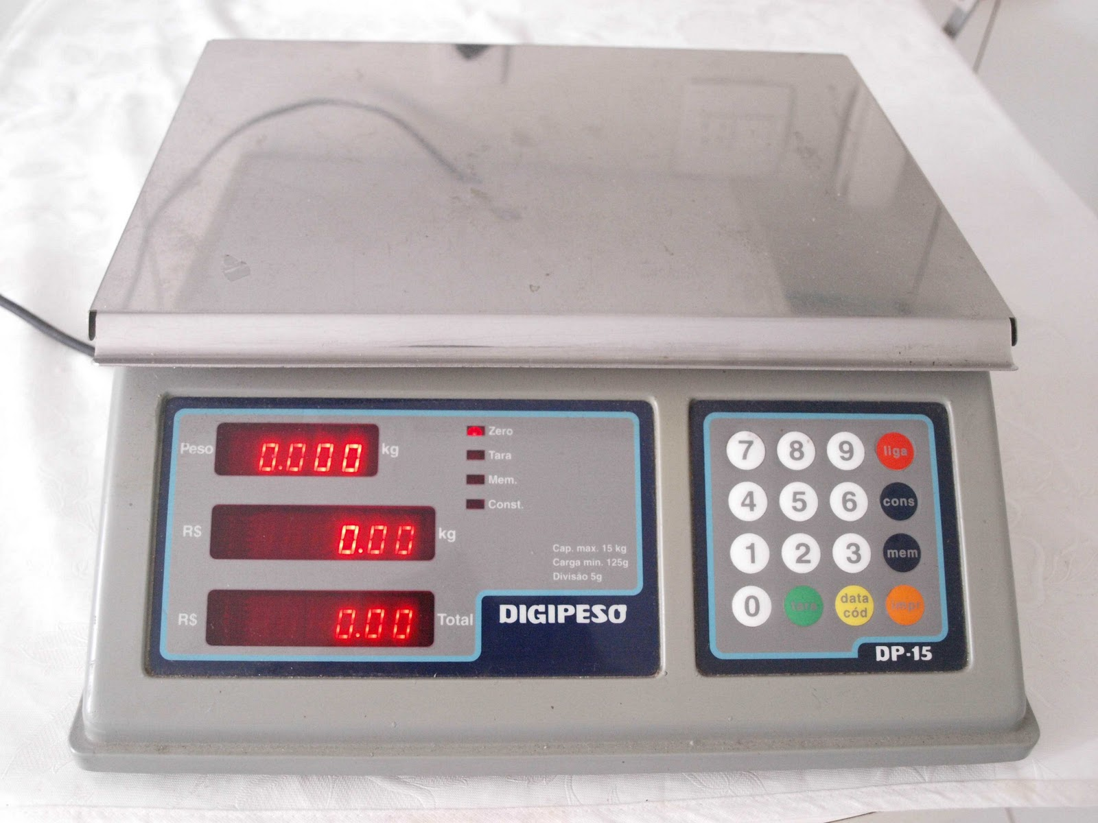 Vendo tudo: BALANÇA ELETRÔNICA DIGITAL DIGIPESO #AD1E29 1600x1200 Balança Eletronica Digital Para Banheiro