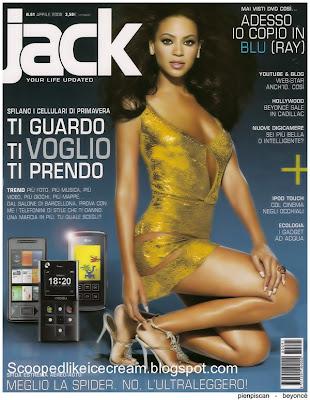 Beyonce Knowles-Jack Magazine