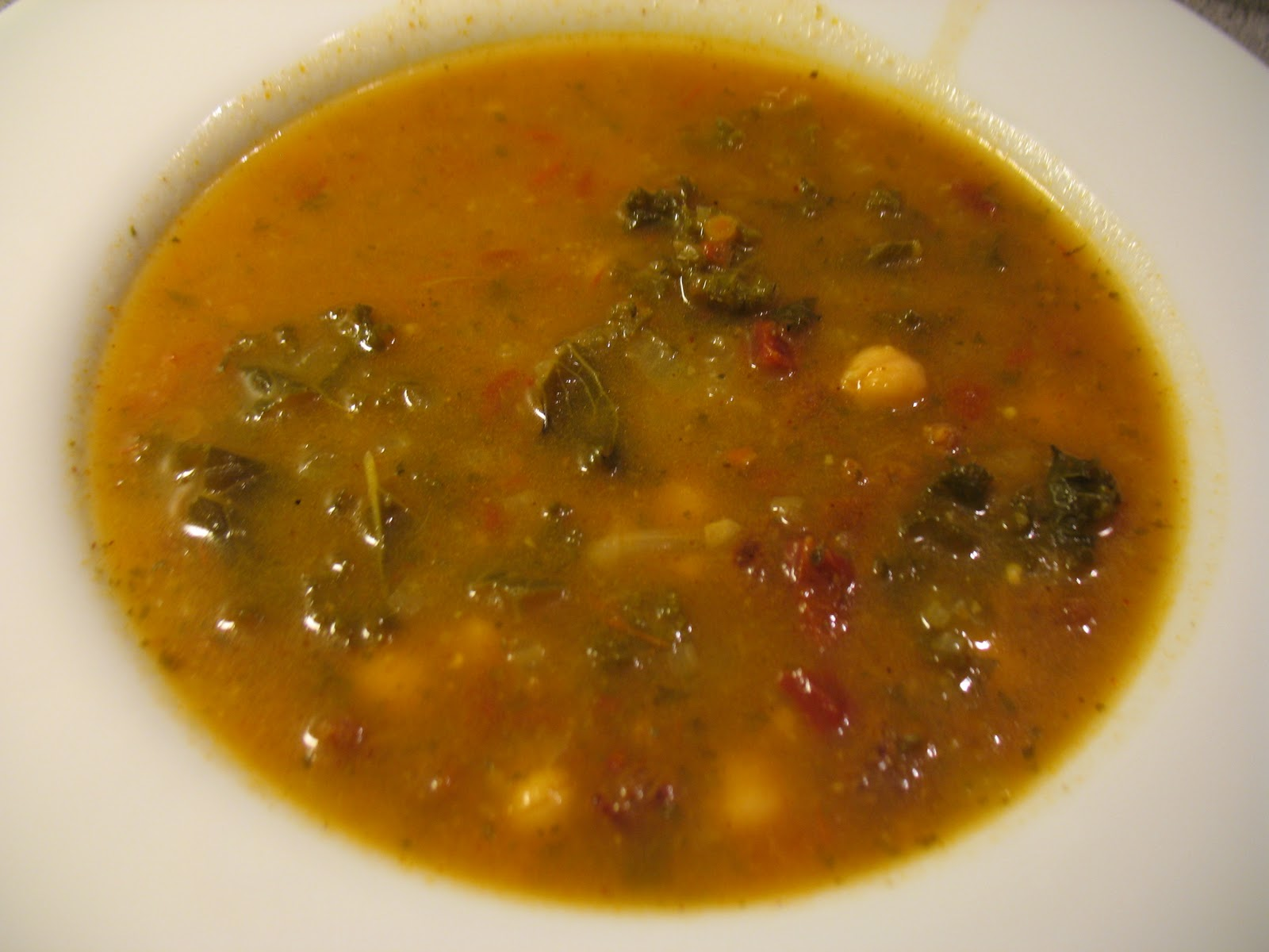 Courtney's Vegan Journal: Chickpea and Chorizo Style Soup