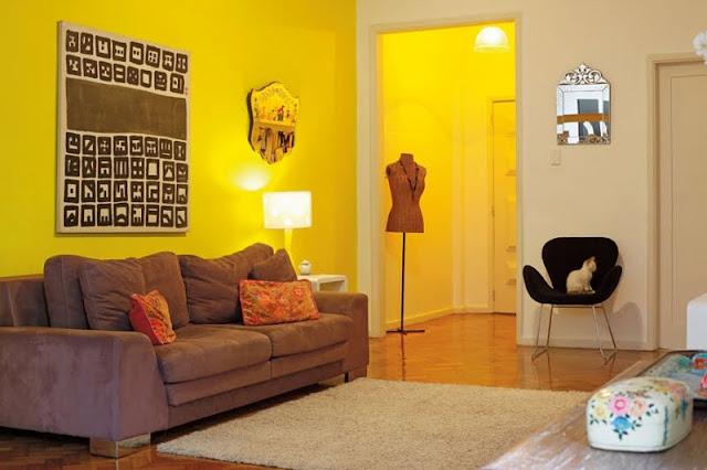 Lorena cavalcanti como acertar ao escolher a cor das paredes for Cores sala de estar feng shui