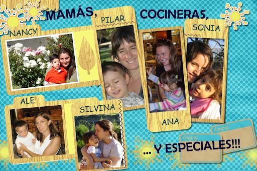 Mamás, cocineras...y especiales!!!
