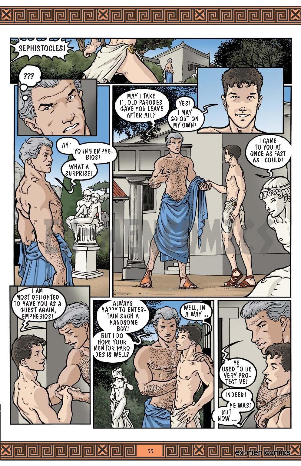 Roman themed porn