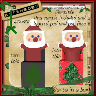 http://scrappingbits.blogspot.com/2009/11/freebie-santa-in-box-template.html
