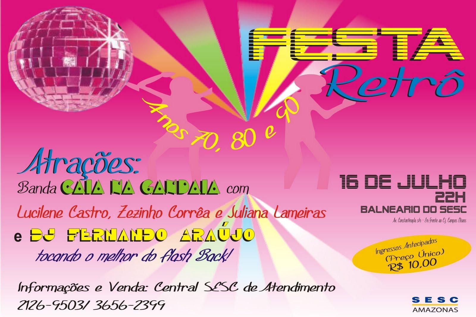 Blogdorocha Festa Retrô
