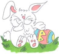 Free Easter Cards - Bunny Easter 2010