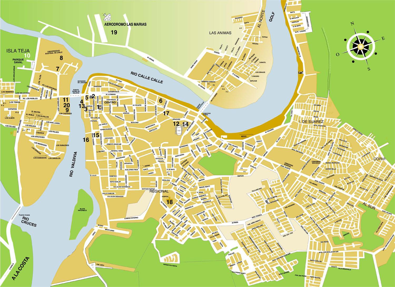Desarrollo proyecto final : Valdivia: Datos Generales de la ciudad