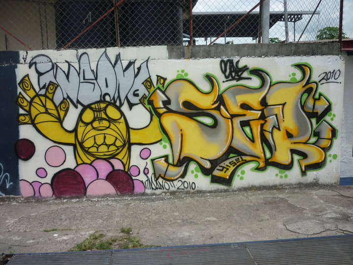 graffiti characters gas mask. Bboy+graffiti+character