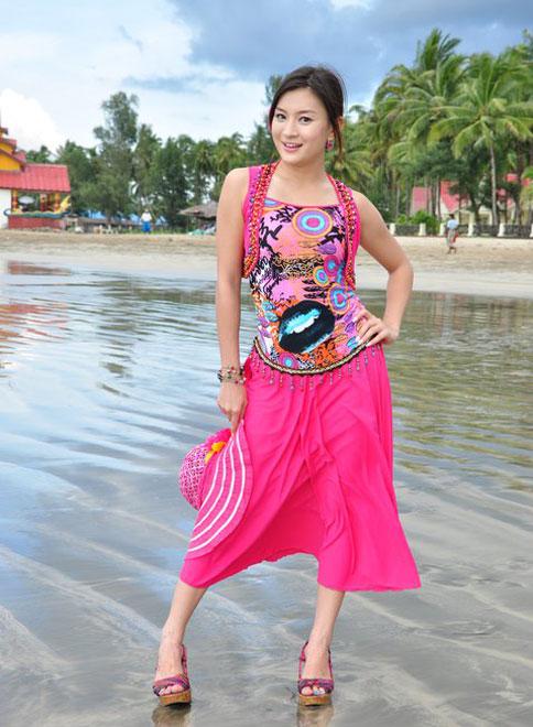 ... fashion photos of myanmar popular tv ads star wutt hmone shwe yi on