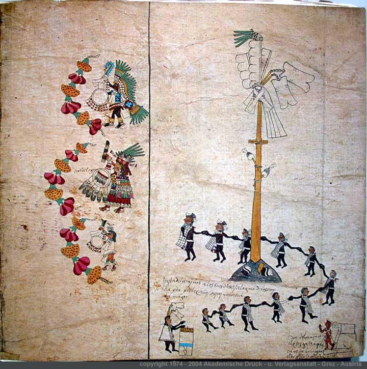 xocotlhuetzi la ceremonia del arbol sagrado