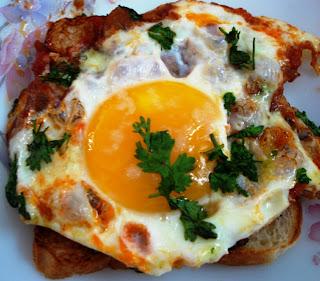 अंडी मसाला
