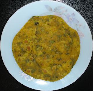 Pudina Paratha