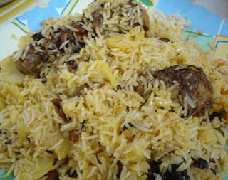 Spicy Biryani