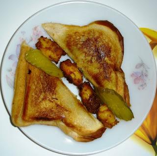 कोळंबीचे सॅन्डविच