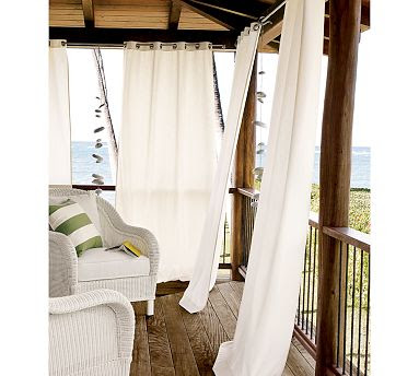 Zasłony na balkon
