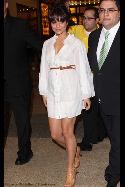 vanessa hudgens in dress. a cue from Vanessa Hudgens