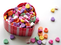 candy wallpaper for valentines day