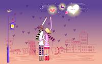 free widescreen valentine wallpaper
