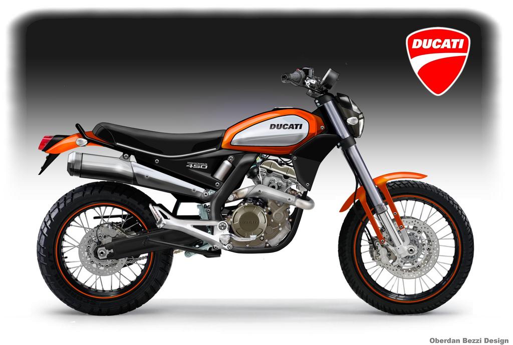 Racing Caf    Bezzi  13   Ducati Mono 450 Series