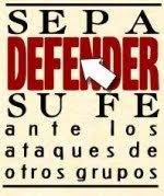 Sepa defender su fe