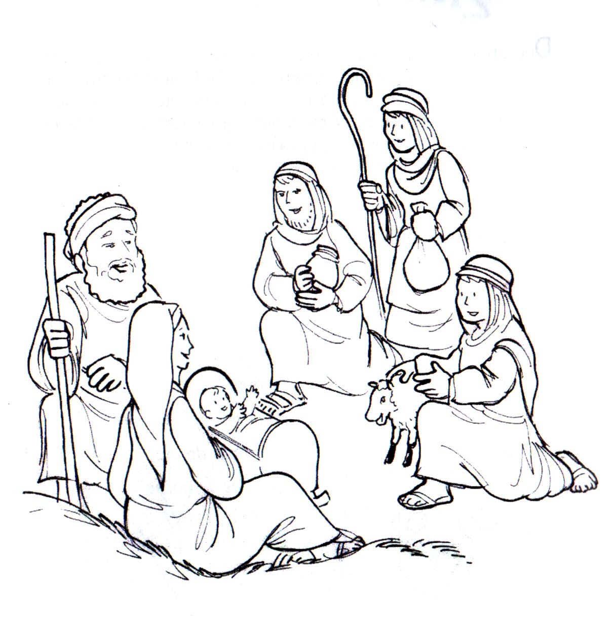 Los Pastores De Navidad