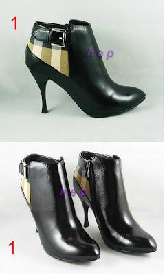 Burberry topuklu ayakkabı bot modelleri