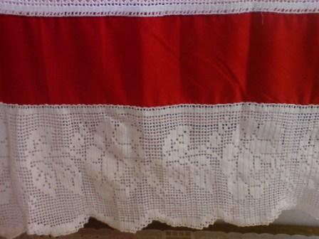 filet crochet curtain - pictures - Bloguez.com