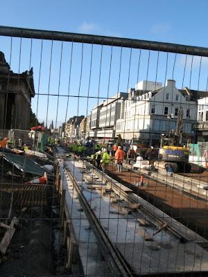princes street construction