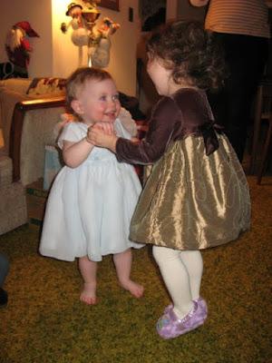 dancing cousins