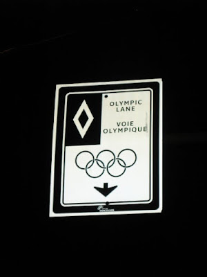 olympic only lane