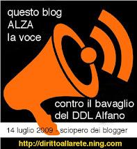 CONTRO IL DDL ALFANO