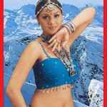 Simran Stretch Marks Below Her Navel