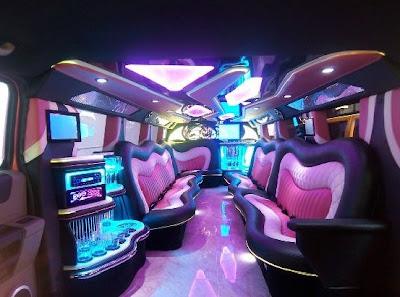 Pink Hummer 2 Limousine