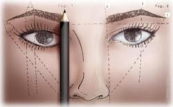 Designer de Sobrancelha com Simetria facial