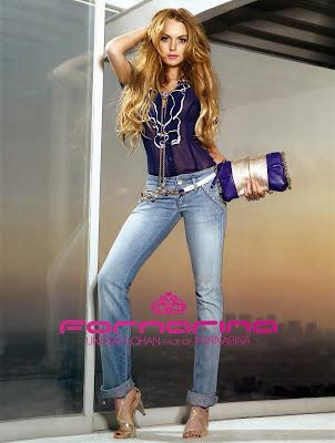 Lindsay Lohan - Gold Open Toe Heels