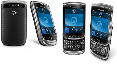 BlackBerry Torch QWERTY smartphone features