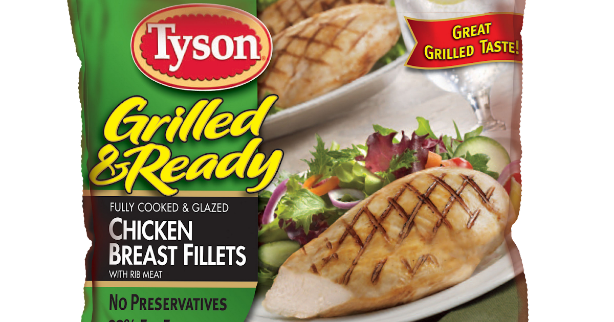 Packaging Graphics Tyson Grilled Amp Ready