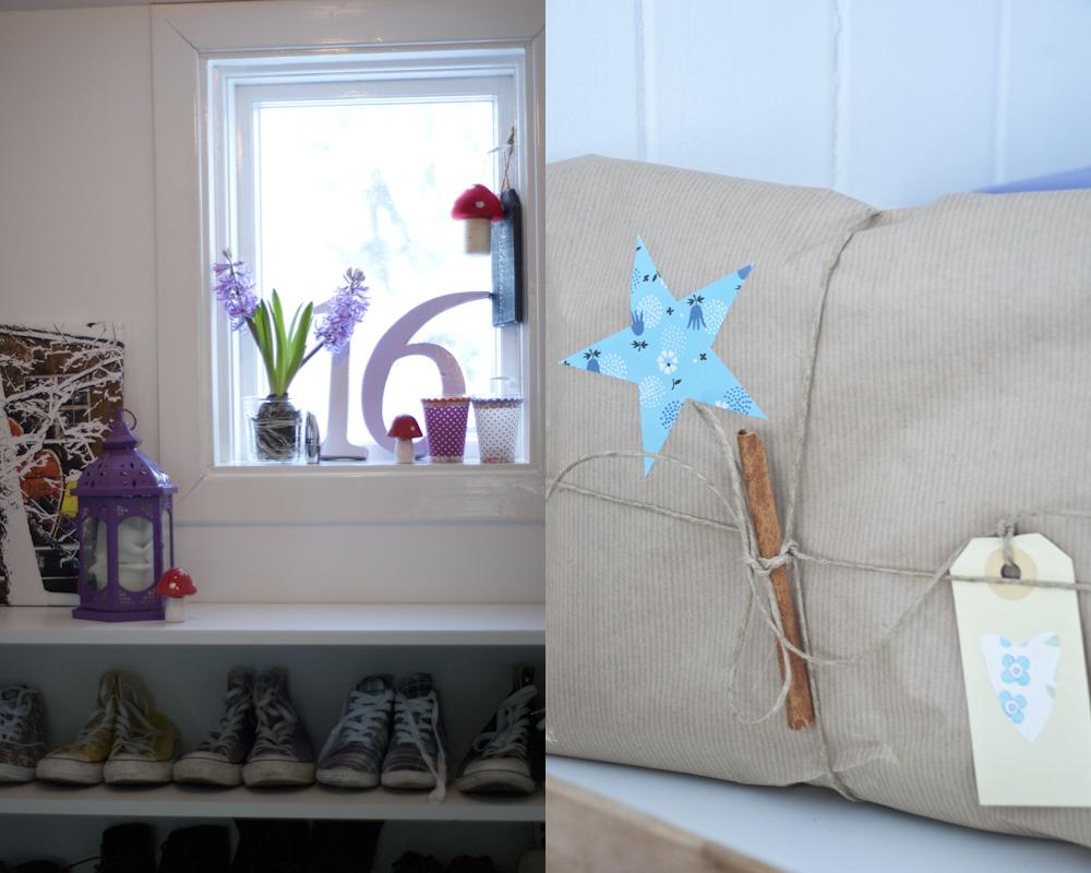 Fjeldborg: jul med blått gulv...