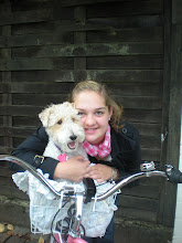 Me and Sophie on my Awesome PINK Bike
