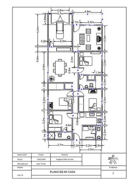 Instalaci n de redes de computadores plano de mi casa - Plano de mi casa ...