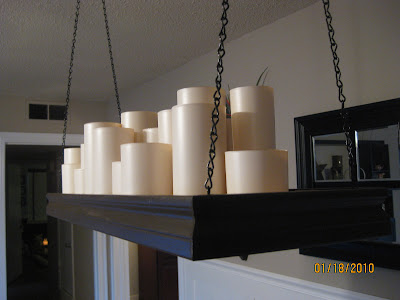 one crafty mommy pottery barn knock off candle chandelier