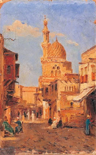 mosque street by Halil Pasha