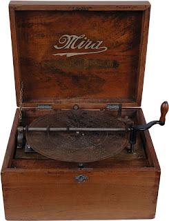19c mira music box