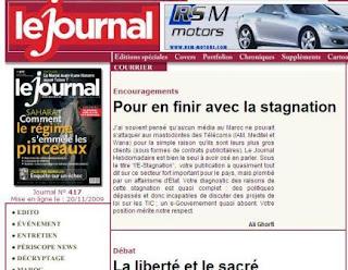 Journal hebdo Big Brother Maroc
