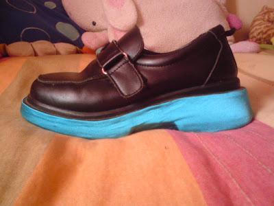 Forrar Zapatos (Miku's shoes) DSC00564