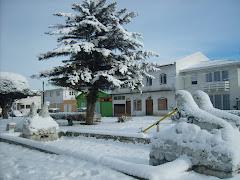Punta Arenas con nieve